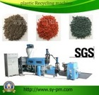 plastic bags recycling machines/ SJY- 110 Double-stage recycling machine manufacturers