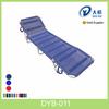 Aluminium Portable Folding Beach Bed