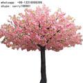 Lxy072025 cereja artificial árvore de flores para decoração de natal