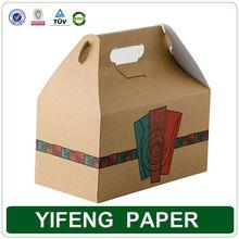 china wholesale custom logo printed folding picnic paper box