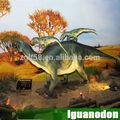 jurásico 2014 parque temático de la decoración de la vida animatronic tamaño de los dinosaurios