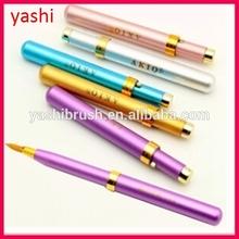 NEW ARRIVAL empty twist up lip gloss pen brush tip