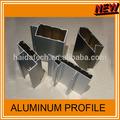 perfil de aluminio de las ventanas y puertas 6063t5 con recubrimiento en polvo en diferentes color