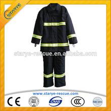Anti Fire IIIA Nomex Kevlar Fire Fighting Suit