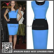 New fashion slim fit bodycon dresses for women