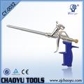 Ventana cy-0052 modelo de puerta de acero con la pistola de espuma