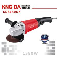 KD8125DX 125mm 1380W hand grinding machine price dewalt angle grinder made in china