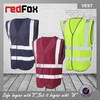 ENISO 20471 polyester hgih visibility reflective security vests