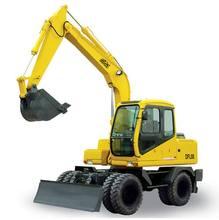 8ton small wheel excavators hydraulic excavator for sale