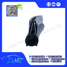 Firm and durable silicone rubber seal