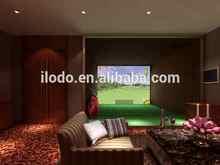 Gopar wonderful design 3D graphics networking home golf simulator