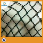 black square mesh extruded bird nets