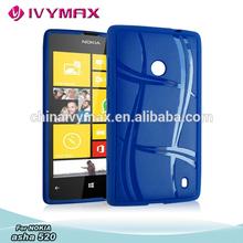 for nokia lumia 520 tpu back covers