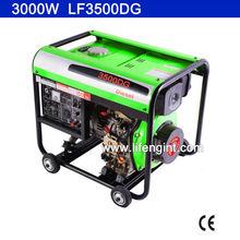 2800W rated power diesel generator LF3500DG for Australia market