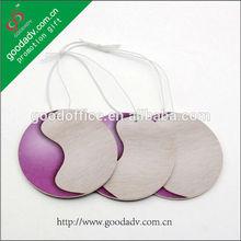 Customized alibaba express paper hanging fancy round car air freshner