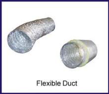 non-insulated aluminum air duct