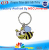 Promotional Customized Little Bee Design Metal Key Chain