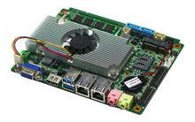 "3.5"" Embedded 1037U SBC Motherboard Sim Card Industry Board with 2*USB 3.0 port,onboard 4GB ddr3 ram,1*mini-pcie for 3G,Wifi"