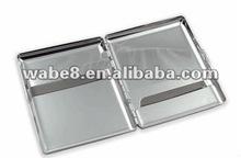 2012 Hot selling. Sleek Chrome Mirror Cigarette Case (For King Size & 100's)