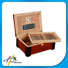 Top popular gift wood cigar packaging boxes in China