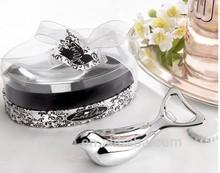 Love Birds Dove Metal Bottle Opener Wedding Table Decoration Party Favour
