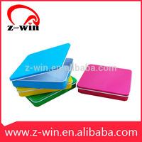 Z-WIN 100X 95X 17mm MB00007 Plain Square Metal Tin Box