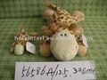 jirafa de peluche juego conjunto de juguete