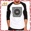 Stylish wholesale custom screen printing bulk long sleeve t-shirts