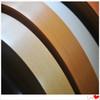 plastic wood grain edge trim for furniture