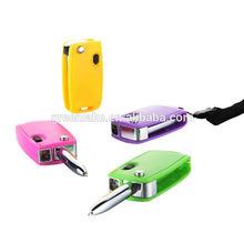 Cheapest promotional ballpoint pen, car keys shape ballpoint with led light