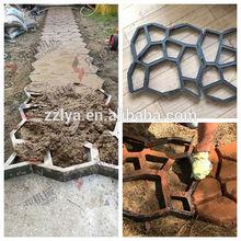 Popular paving stone mould Garden DIY decoration