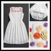 Celebrity Designer Appliqued Ladies One Piece Dress For Party