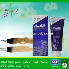 hair bleaching product for hair dye,organic hair bleaching cream