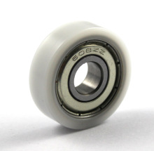 China small plastic roller 8x26x8mm with 608zz Bearing Roller wheel