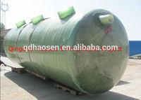 Good quality promotional frp grp horizontal storage tank