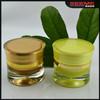 2014 New Design round waist shape acrylic 50g cream jar empty cosmetic container eye gel jar