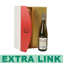 Wine Biodegradable Colored Waxed Packaging Cardboard Boxes