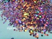 cosmetic glitter powder for body art