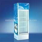 158L retail store cooler display