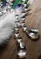 Regalo de acrílico del diamante confeti/decoración de la boda