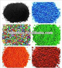 EPDM granule, rubber strip, runway, turf infilling, rubber tile,FN-14021174