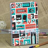 enthusiastic UK soldier UV hard case cover for ipad mini
