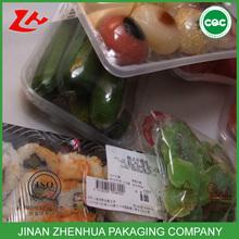 best transparent kitchen use vegetables&fruits&fried food cling film glossy pe film