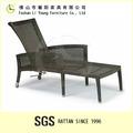 Estilo antigo chiavari cadeira ao ar livre do rattan lounge lg03-3007