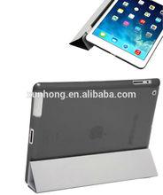 J1075 Transparent Crystal Case Cover For Apple iPad Air iPad 4 3 2 iPad Mini Mini 2 black