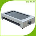 De acero inoxidable sin humo parrilla eléctrica/multi- función plancha eléctrica bn-hl01