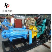 Standard or nonstandard diesel fuel water pump to boiler water