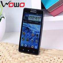 Original Android 4.2 Lenovo P780 mobile phone MTK6589 Quad core 5 inch IPS 1G RAM 4GB ROM