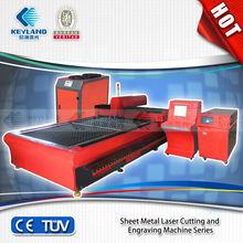 KEYLAND KQG1325C/KQG1530C cnc laser cutting machine metal 1500*3000/1300*2500 travel area