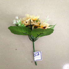 Miniature Artificial Flower Sunflower With Natural Look